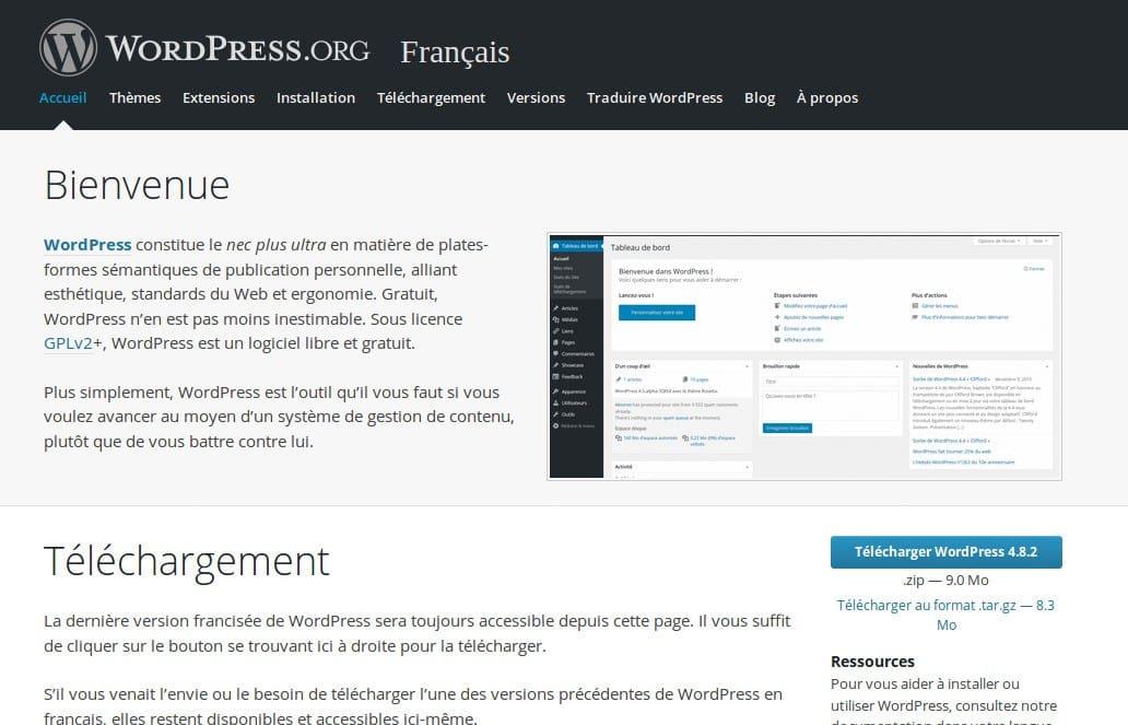 La grande FAQ WordPress - Image 1 Qu'est-ce que WordPress