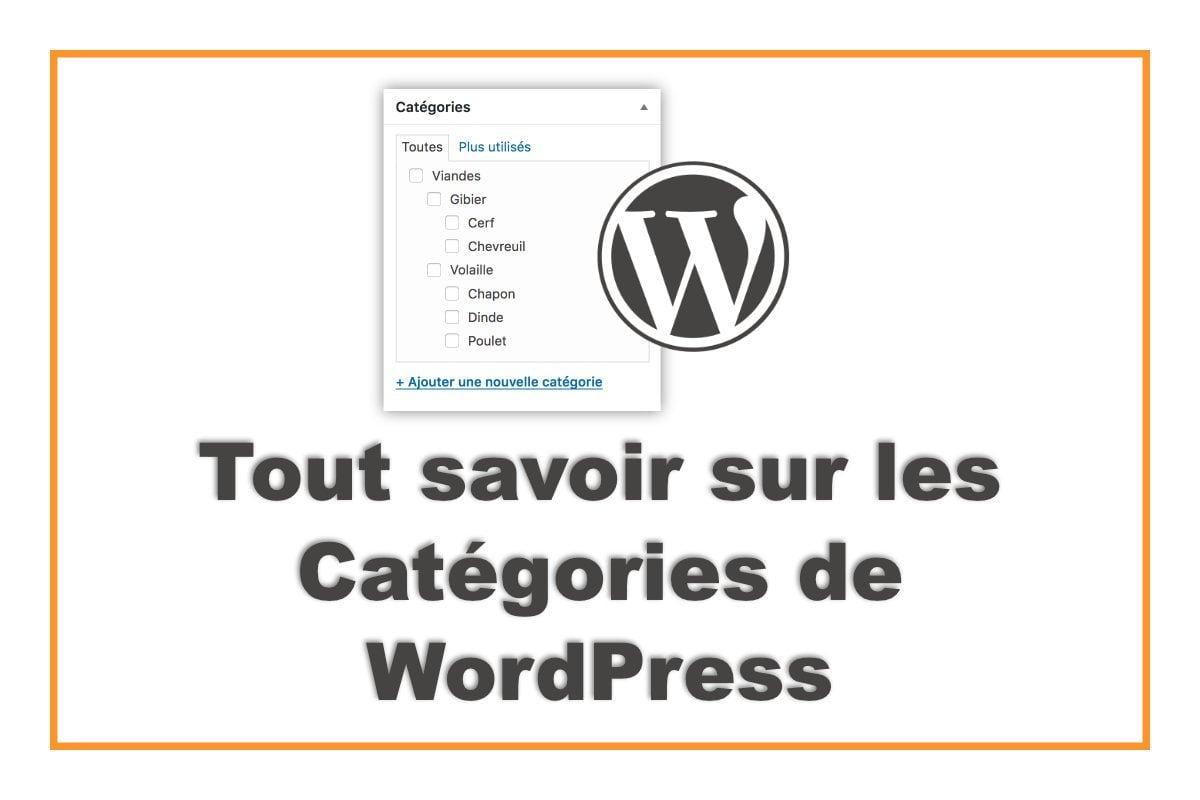 Catégories de WordPress