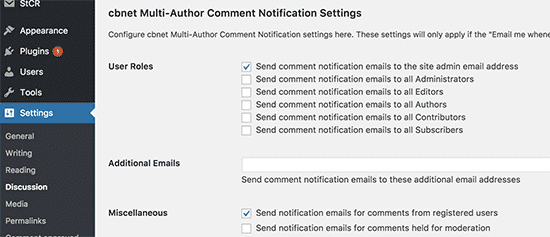 Mails notifications commentaires - multiauthor comment notifications
