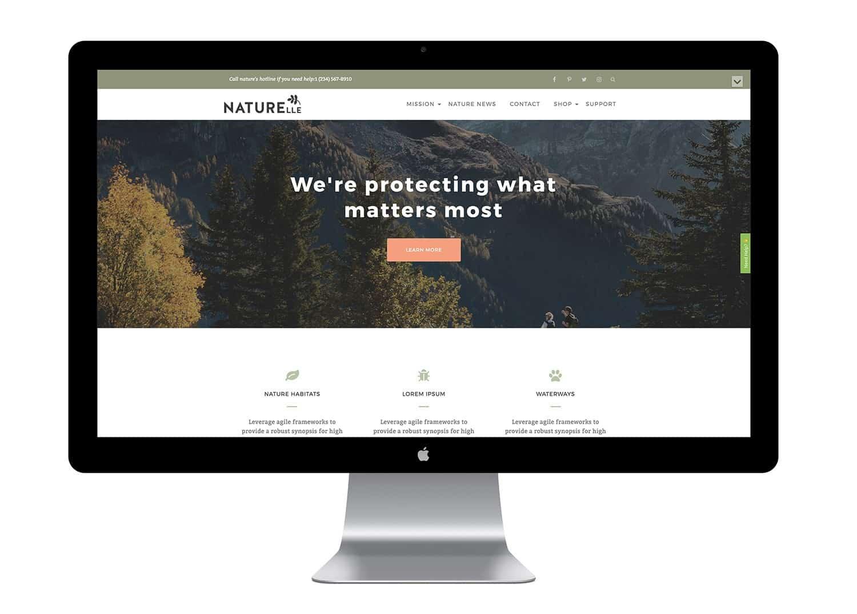 Thème WordPress Gratuit Naturelle