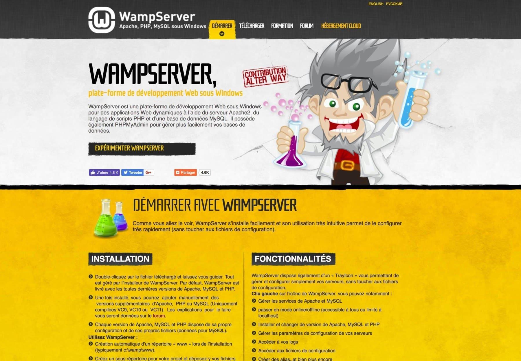10 outils pour faciliter WordPress - WAMP