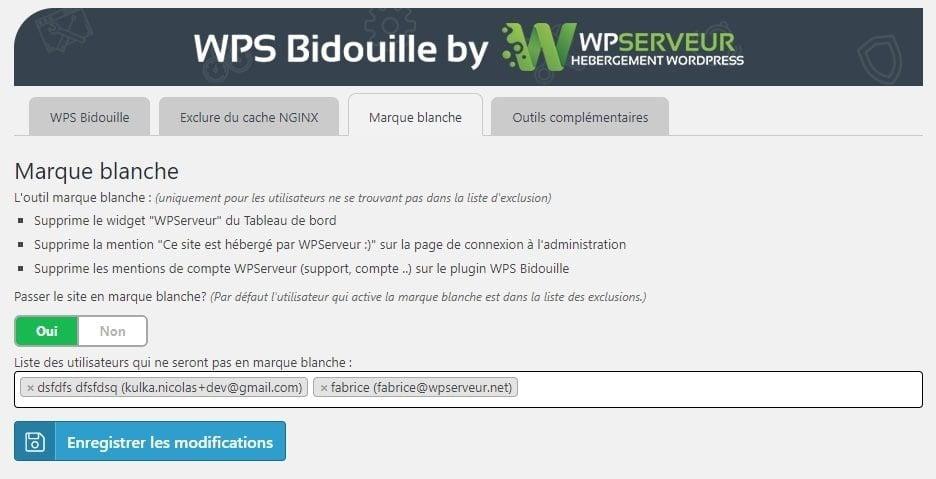 marque blanche WPS Bidouille