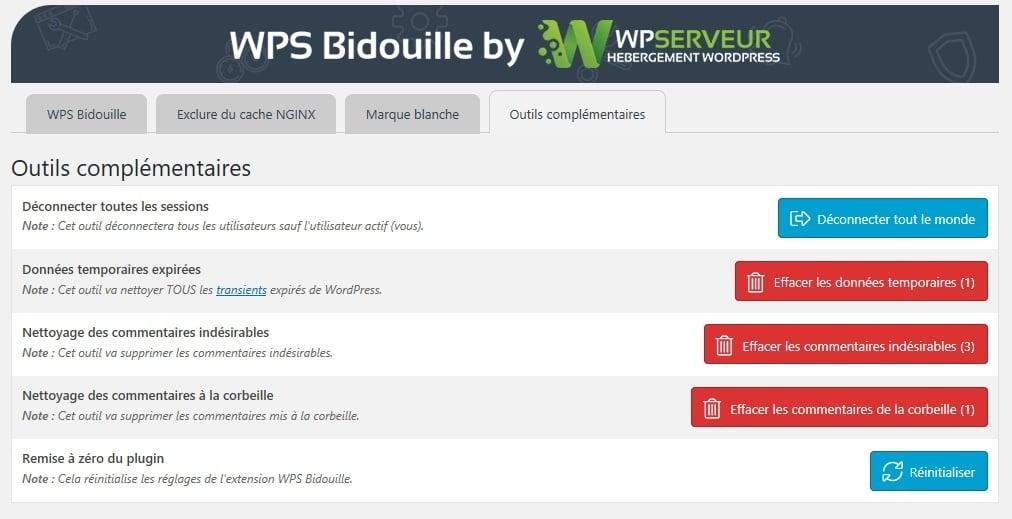 outils WPS Bidouille