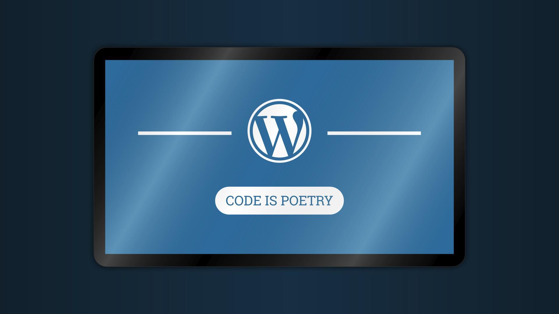 WordPress vs Wix - Logo WP