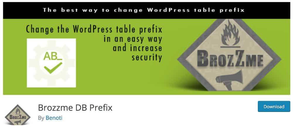 Brozz DB Prefix