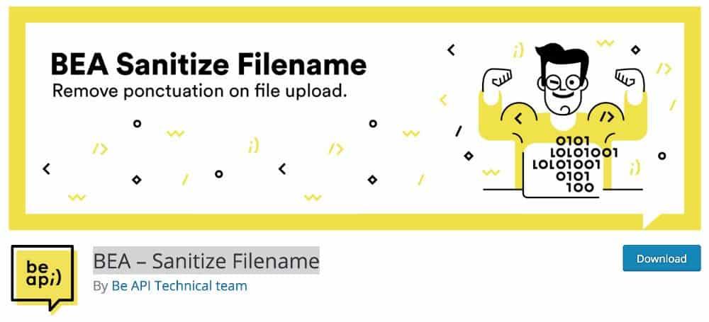 BEA Sanitize Filename