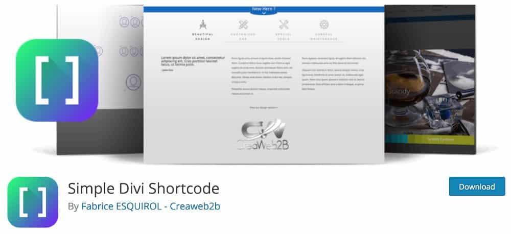 Simple Divi Shortcode