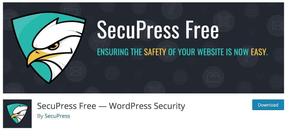plugin WordPress Made in France : SecuPress