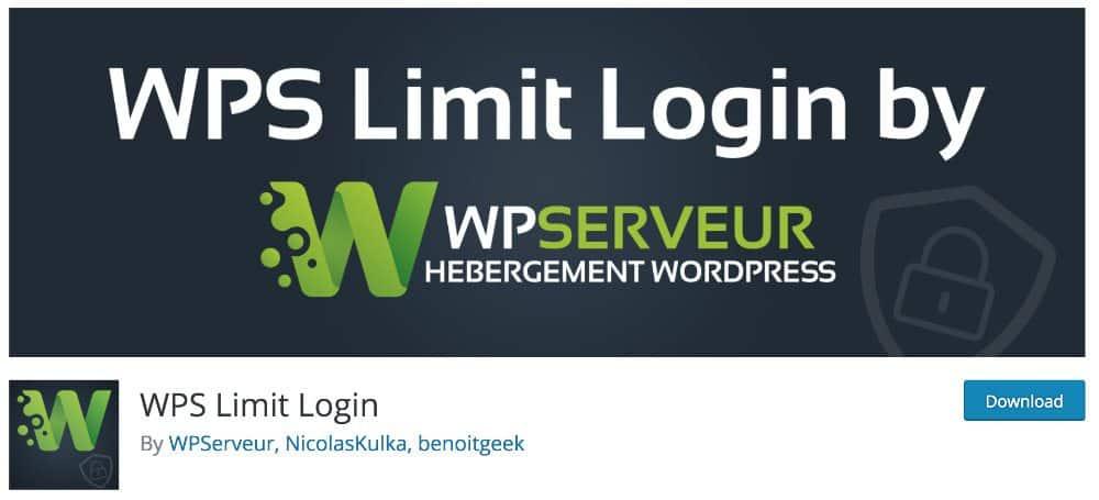 plugins WordPress Made in France : WPS Limit Login