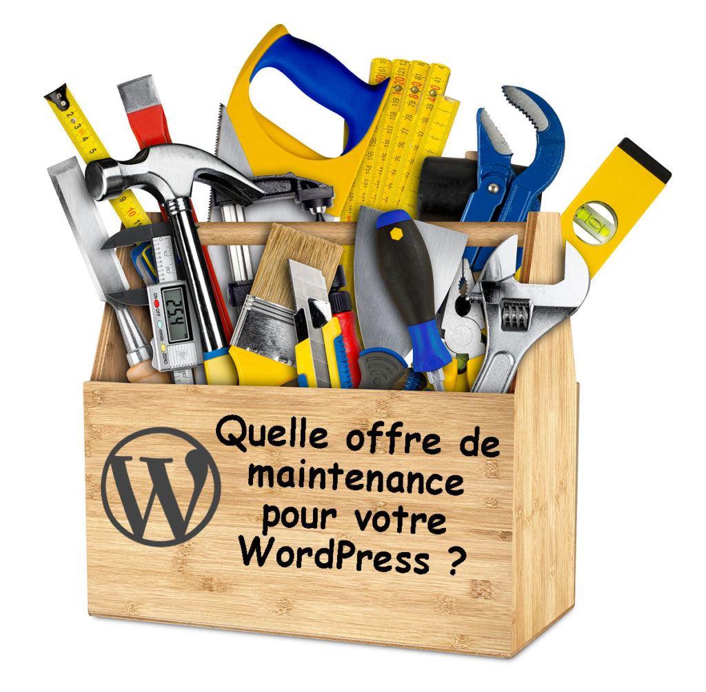Quelle offre de maintenance pour WordPress