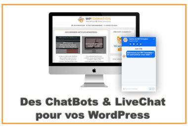 ChatBots et LiveChat pour WordPress