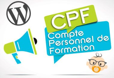 compte personnel formation cpf WordPress