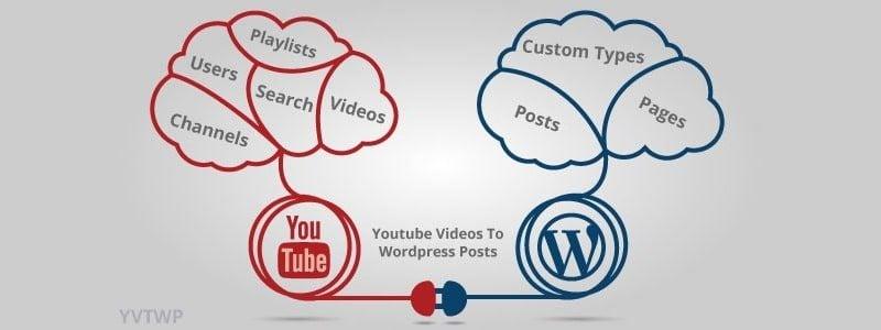 Meilleurs plugins wordpress youtube - youtube video to wordpress post