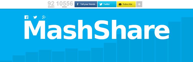 meilleurs plugins reseaux sociaux wordpress - MashShare
