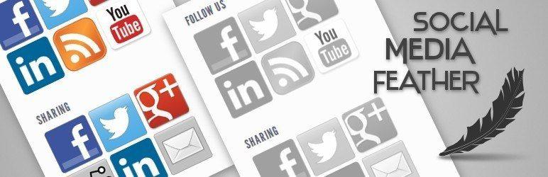 meilleurs plugins reseaux sociaux wordpress - Social Media Feather