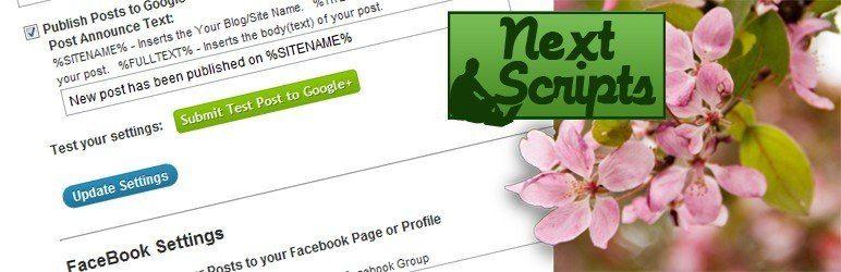 meilleurs plugins reseaux sociaux wordpress - Social Networks Auto Poster