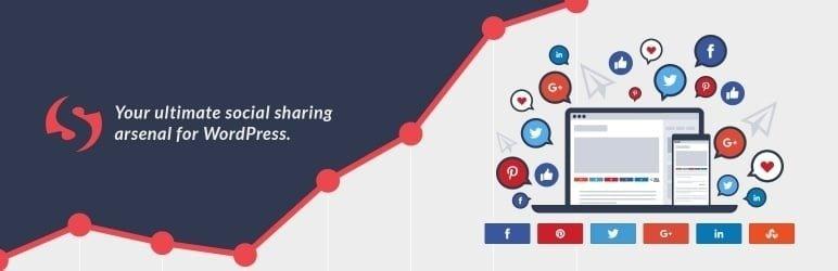 meilleurs plugins reseaux sociaux wordpress - Social Warfare