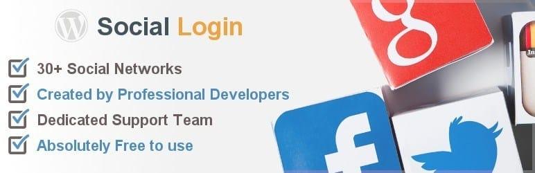 meilleurs plugins reseaux sociaux wordpress - Social login