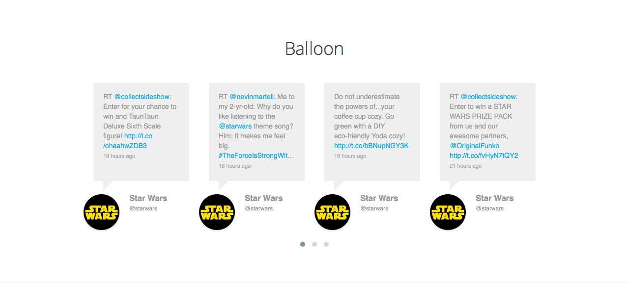 meilleurs plugins reseaux sociaux wordpress - Tweetlab - Twitter slider 2