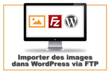 image WordPress via FTP