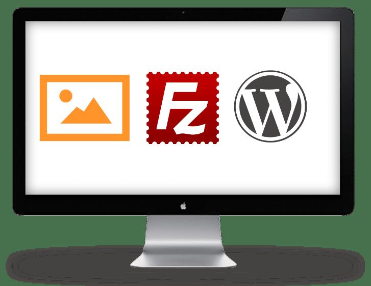 images dans WordPress via FTP