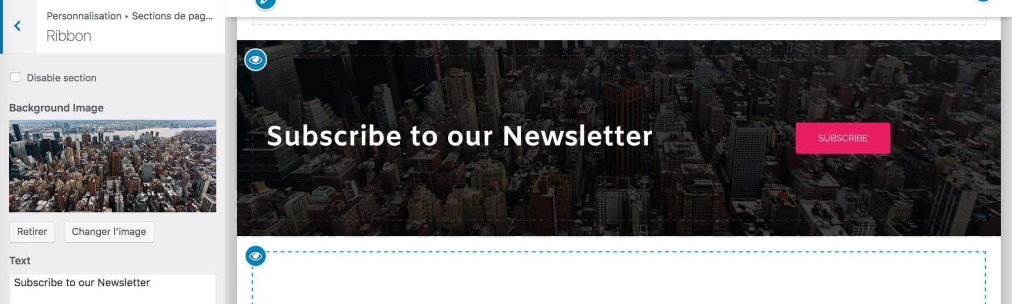 section newsletter