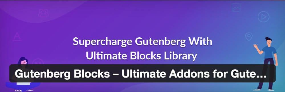 Ultimate Addons Gutenberg