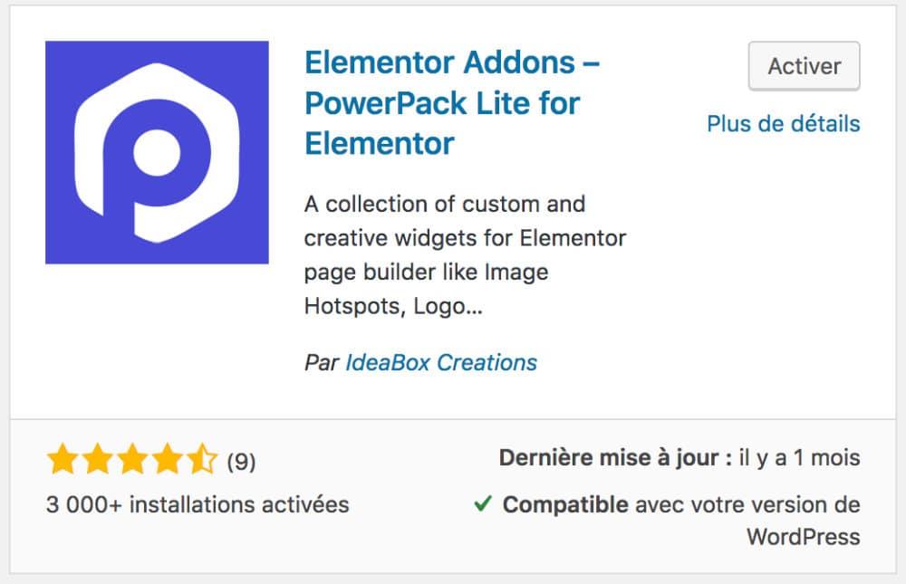Elementor Addons - PowerPack Lite