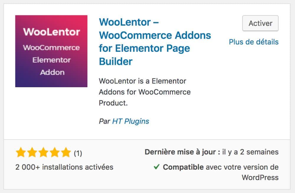 WooLentor - addons Elementor
