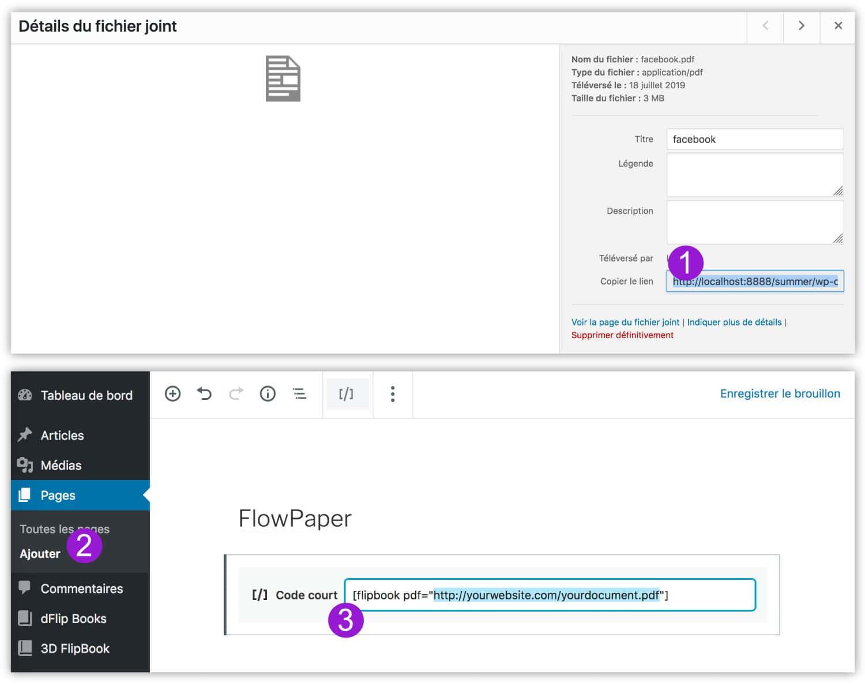 créer FlowPaper