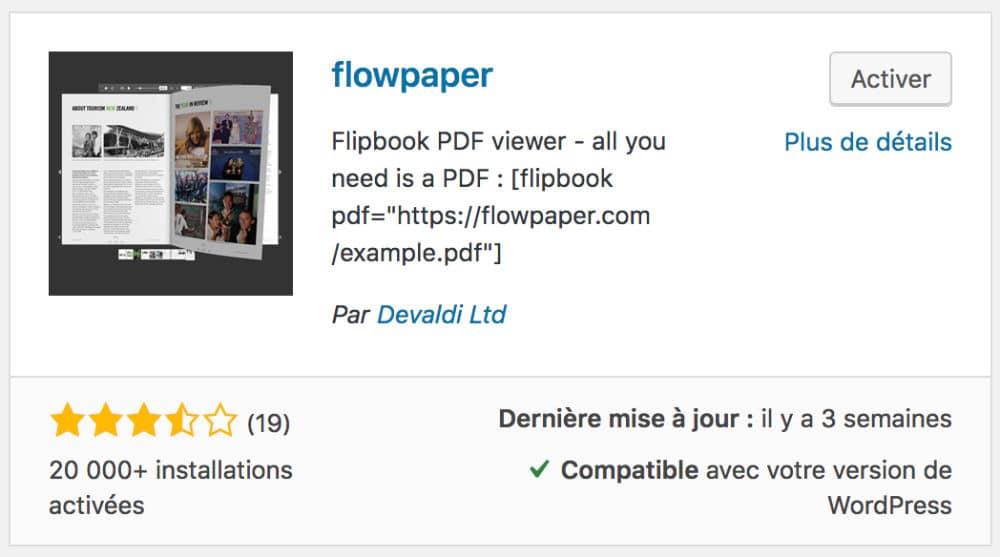 FlowPaper - flipbook plugin