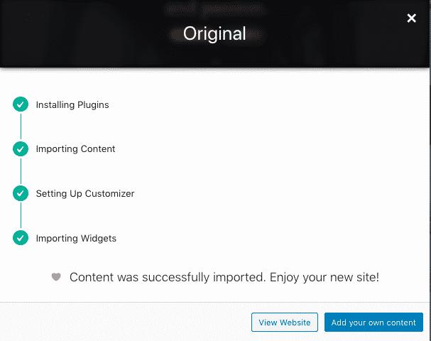 Neve thème WordPress