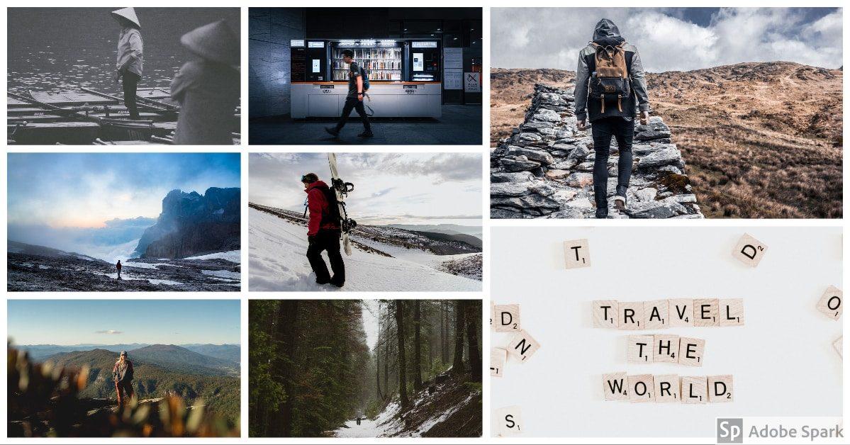 visuel en collage photo facile et rapide