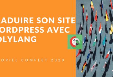traduire son site wordpress avec polylang 2020