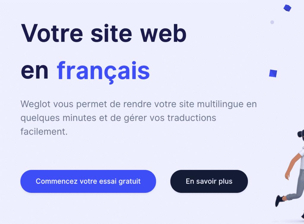 Tutoriel Weglot WPFormation prix par an essai gratuit