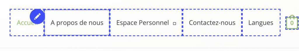traduire weglot wordpress menu navigation