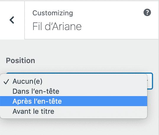 astra wpformation fil d'ariane