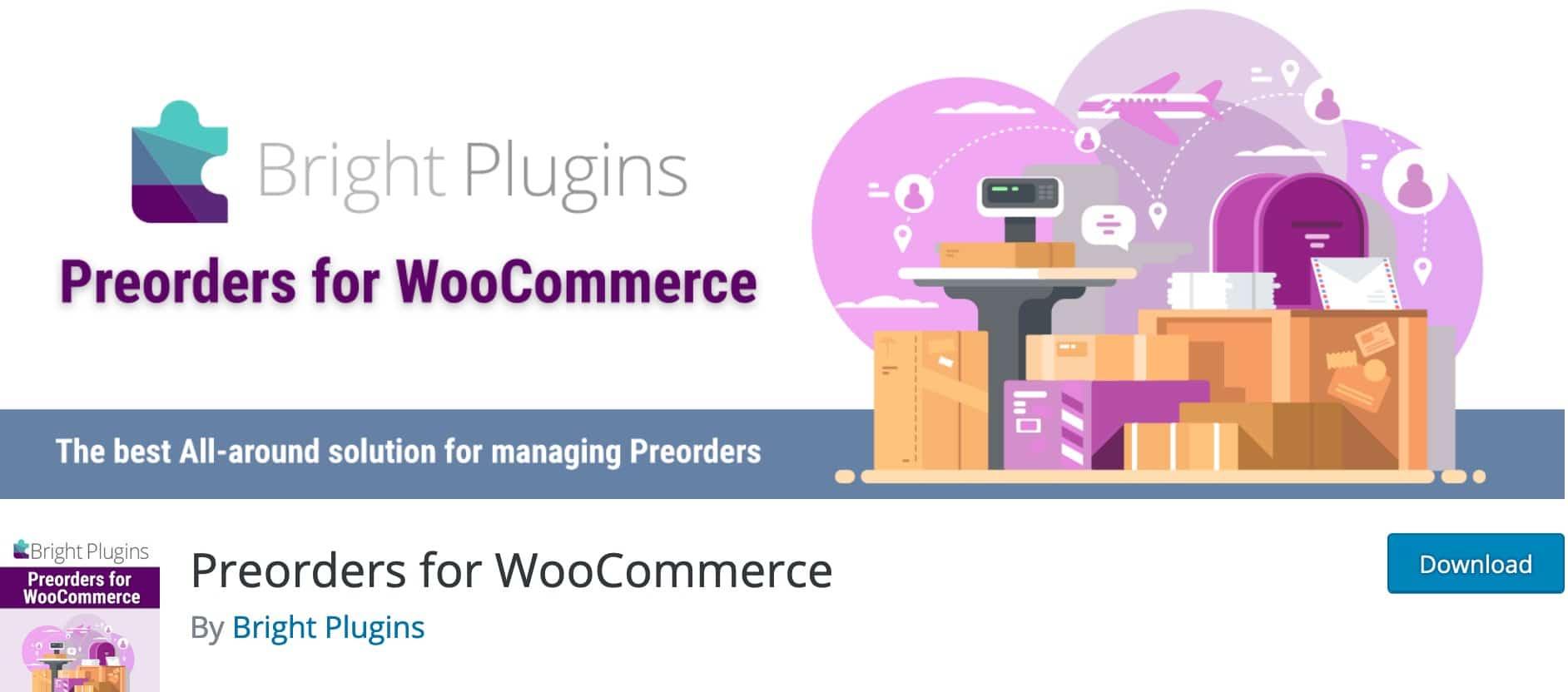 Pre Orders for Woocommerce, Plugin Gratuit Woocommerce WordPress
