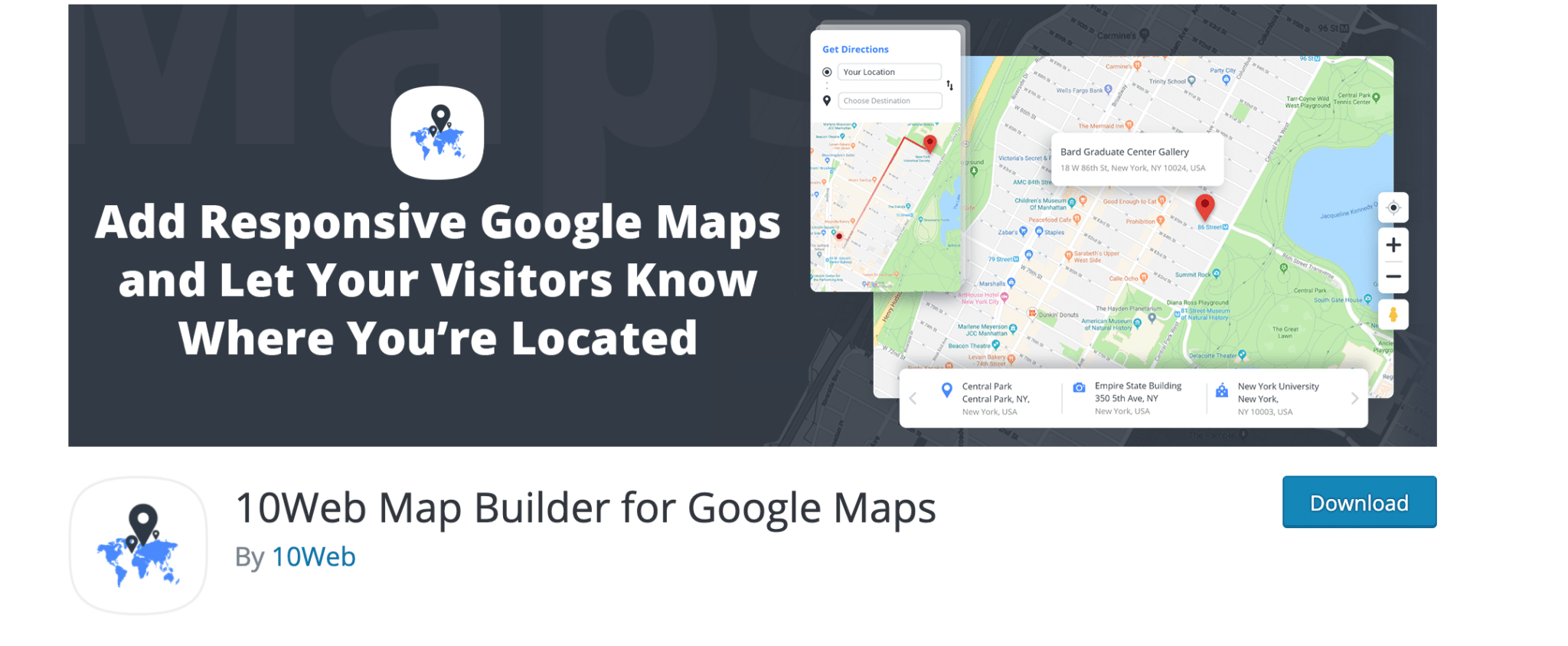 10web Map Builder