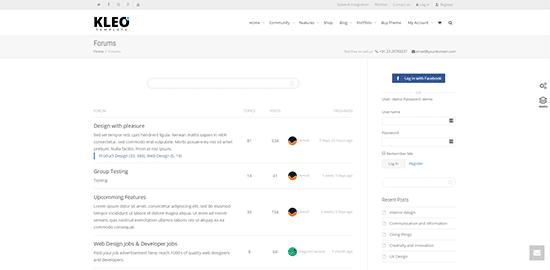 Kleo Theme How To Setup Your Own Forum Using WordPress
