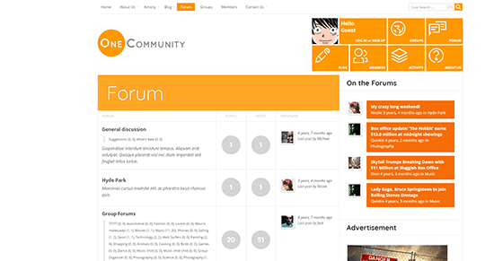 Onecommunity How To Setup Your Own Forum Using WordPress