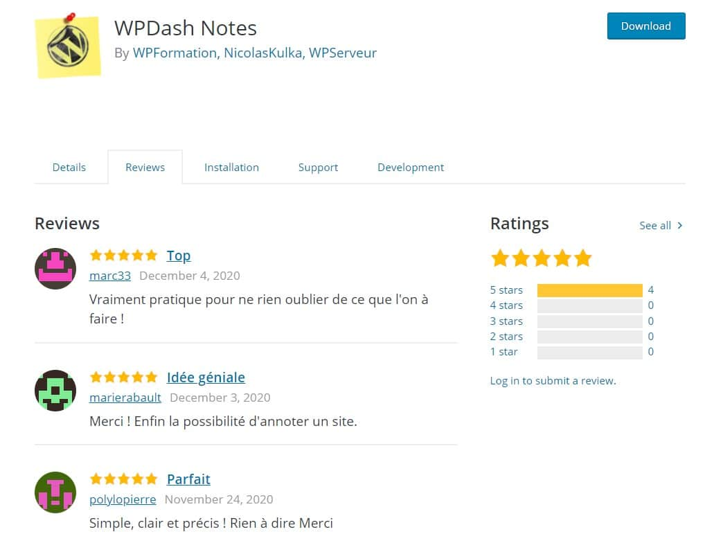 Wpdash Notes Review