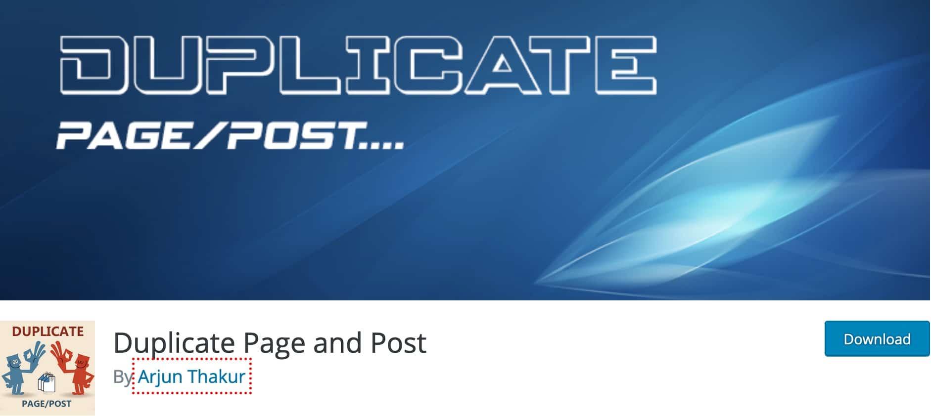 Plugin Dupliquer Article WordPress 11
