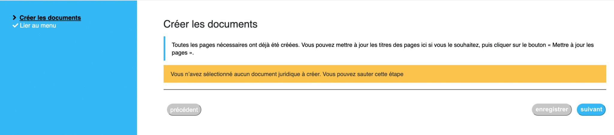 Créer Les Documents