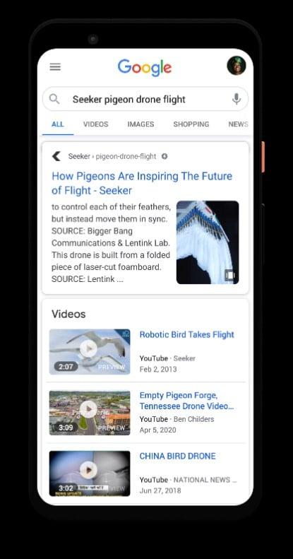Web Story Resultat Unique Serp