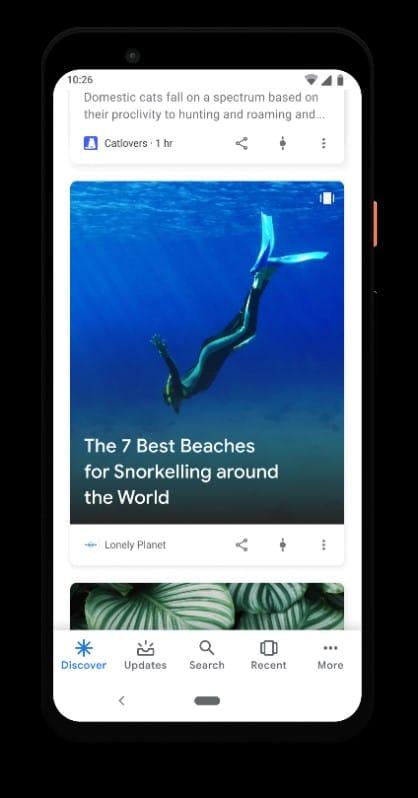 Google Web Story Pour WordPress Fiche Unique Discover