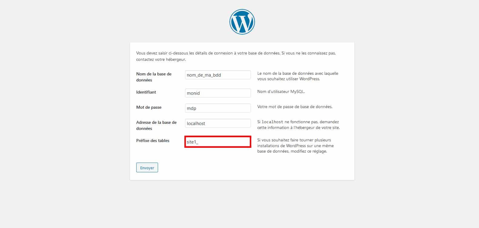 Bien choisir le préfixe des tables de base de données sur WordPress