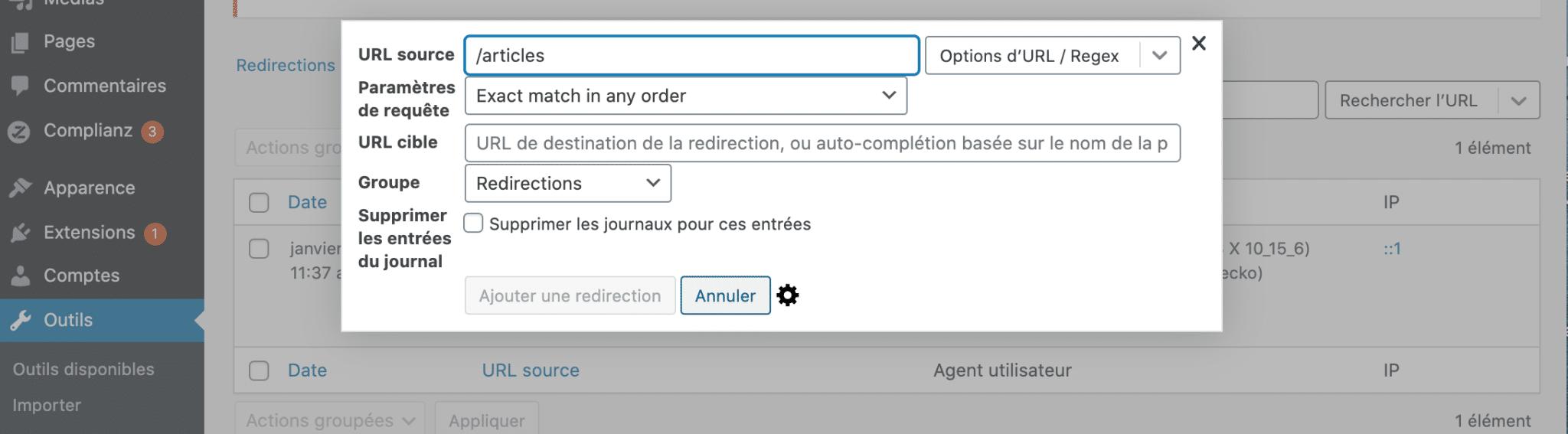 14. Redirection Erreur 404
