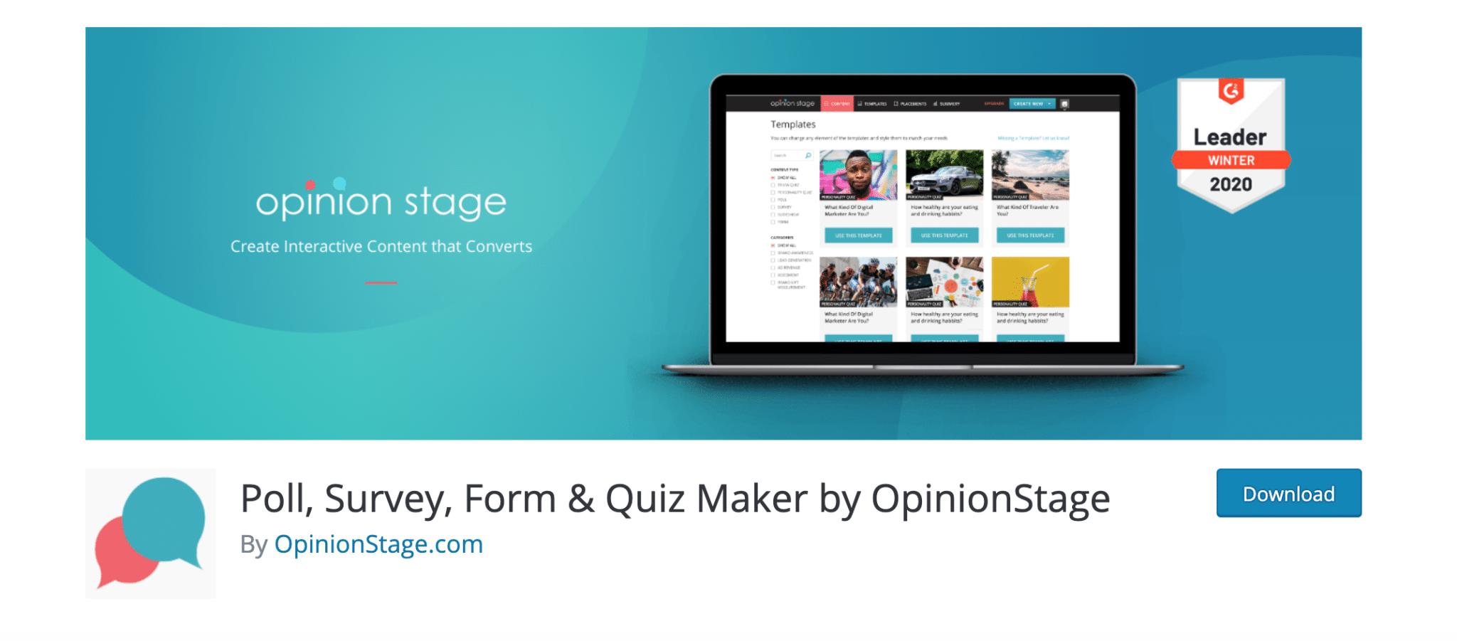 Poll, Survey, Form, Quiz Maker