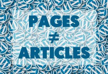 Quelle Difference Entre Article Et Page Wordpress 6